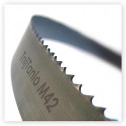 5. Piła taśmowa bimetalowa TnijTanio M42 27x0,9x6/10