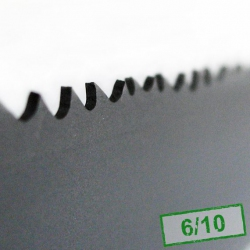1. Piła taśmowa bimetalowa HI-STANDARD 13x0,6x6/10